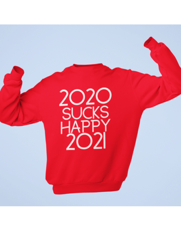 Džemperis 2020 sucks, Happy 2021
