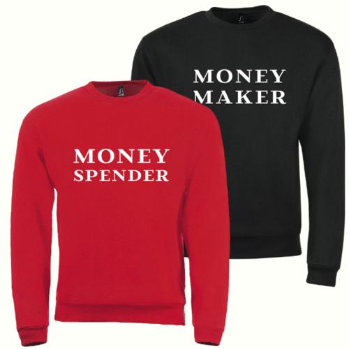 Džemperiai poroms Money Maker ir Money Spender