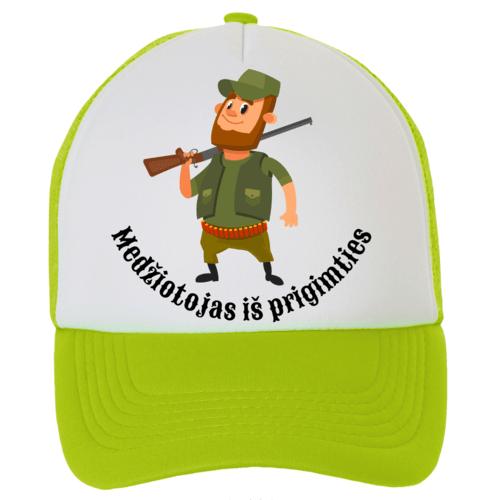 Kepuraitė su snapeliu - medžiotojas iš prigimties, salotinė