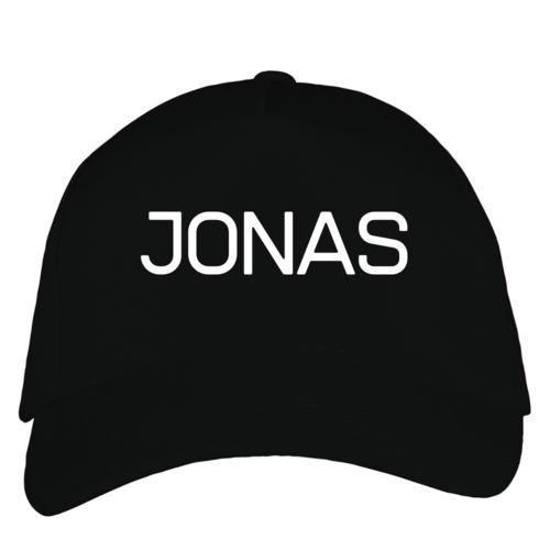 Kepuraitė su snapeliu - Jonas, juoda