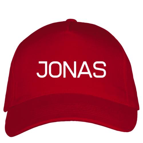 Kepuraitė su snapeliu - Jonas, raudona