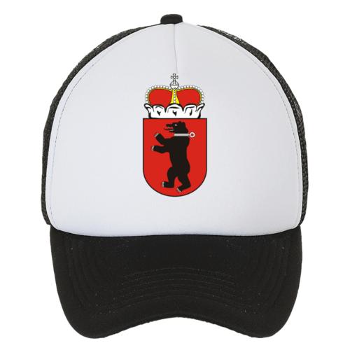 Kepuraitė su snapeliu, su žemaitijos herbu, juoda