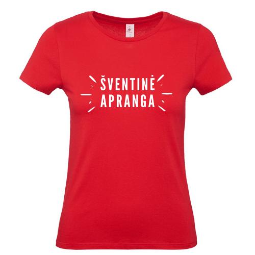 Moteriški Kalėdiniai marškinėliai Šventinė Apranga