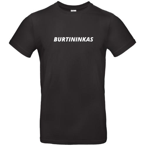 Linksmi marškinėliai su užrašu BURTININKAS