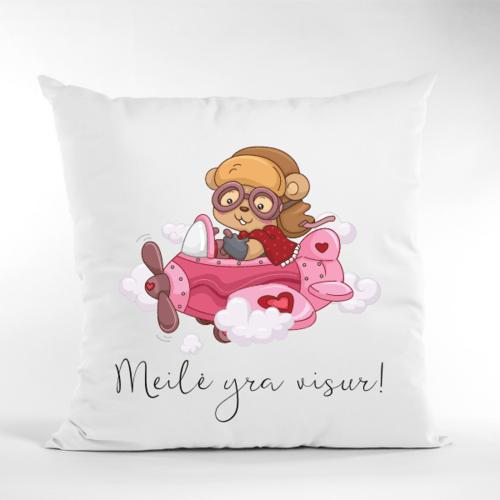 Dekoratyvinė pagalvė Meilė yra visur