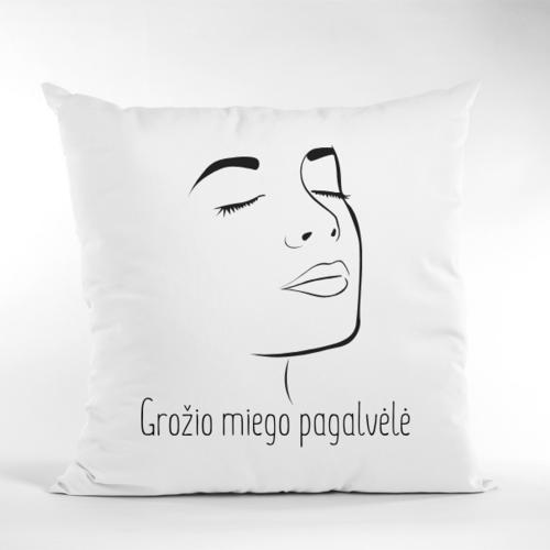 Dekoratyvinė pagalvė Grožio miegui