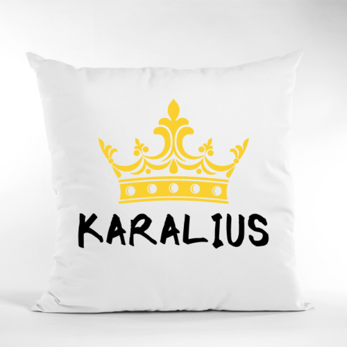 Dekoratyvinė pagalvė Karalius