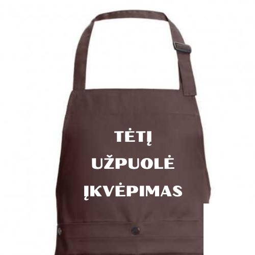 Prijuostė TĖTĮ UŽPUOLĖ ĮKVĖPIMAS